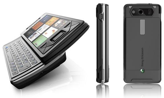 telephone smart phone mobile phone  Sony Ericsson Xperia X1