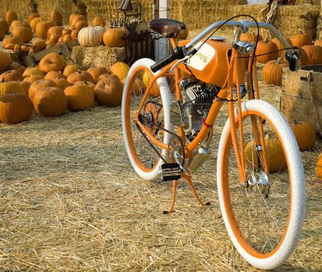 transportation motorcycles bicycles  Derringer Motorized Bicycle