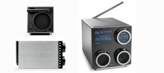ipod clock radios ipod accessories home audio  Elton Porsche Design Audio P9120