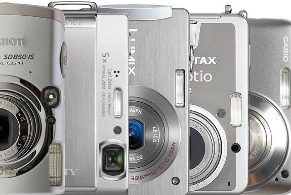 What is the Best Ultra-Compact Digital Camera? Canon Powershot vs. Casio Exilim vs. Panasonic Lumix vs. Pentax Optio vs. Sony DSC
