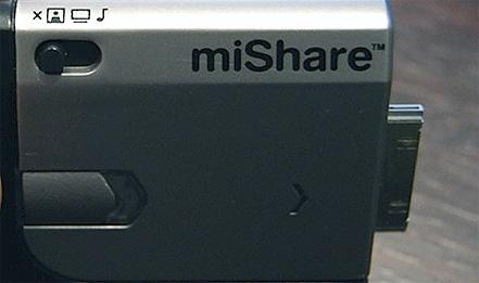ipod accessories  iPod + iPod = miShare