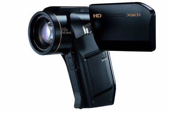 Professional, Super HD with the Sanyo Xacti HD1010 Camcorder