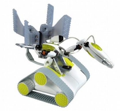 robot game  The Erector Spykee Transforming Spy Robot