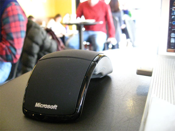 travel gadgets microsoft computer accessory computers  Microsofts Wireless, Wonderful <br>Arc Mouse