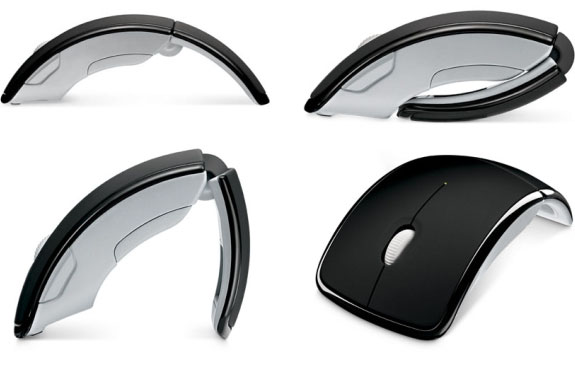 Microsoft's Wireless, Wonderful <br />Arc Mouse