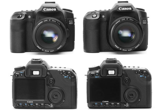 Canon EOS Digital SLR Showdown: 40D vs 50D