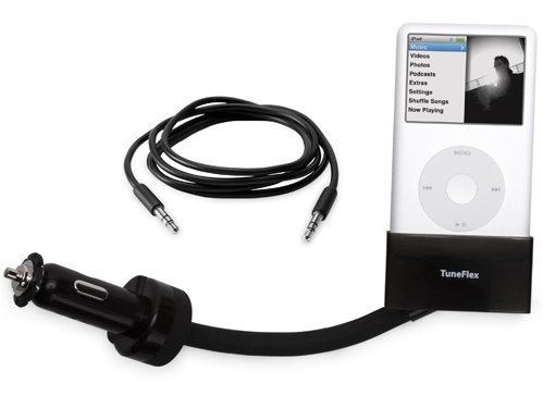 ipod accessories  Listen To Your iPod Through A Car Stereo