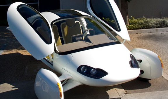 eco friendly concept cars  Aptera Electrifies The Race For The Car 2.0