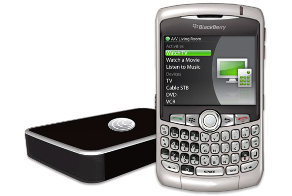 Turn Your BlackBerry Into A Universal Remote Control