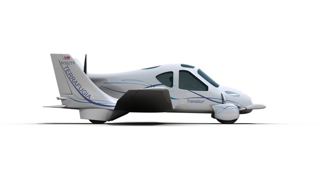 Terrafugia's Transition Roadable Aircraft