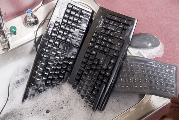 The Waterproof, Dishwasher Safe, Keyboard