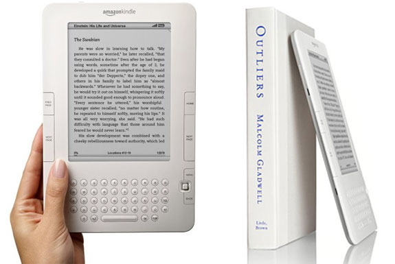 First Look At The Kindle 2