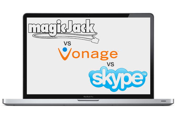 MagicJack vs. Vonage vs. Skype
