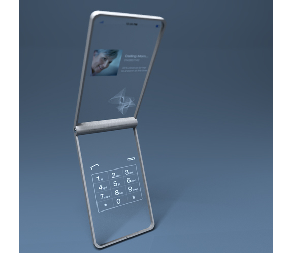 smart phone lg concept mobile phone  The Cloudy Future of the Clear Cell Phone