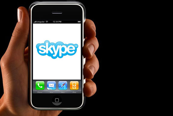 Skype Comes to the iPhone