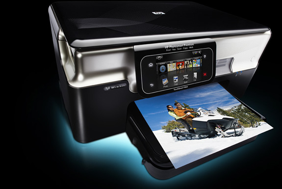 TouchSmart: The First Web-Connected Printer