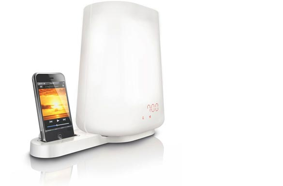 A Better, Gentler iPod Lamp & Alarm Clock