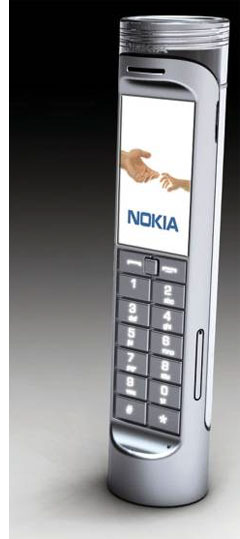 nokia 2 eco friendly concept mobile phone  Id Like to Buy the World . . . a Cell Phone Battery?