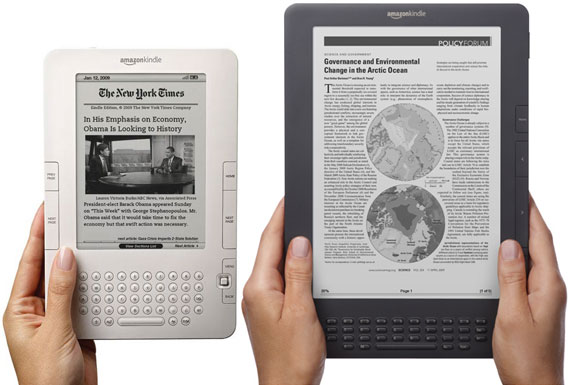The Kindle 2 vs the new Graphite Kindle DX