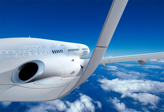 The Coming of the Transparent Airplane?