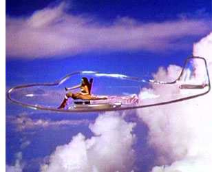 transportation concept  The Coming of the Transparent Airplane?