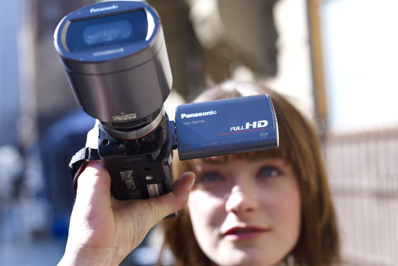 The World's First Consumer 3D Camcorder