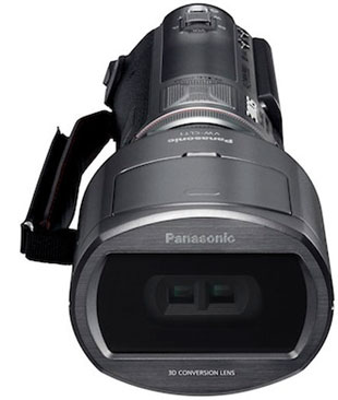 video camera 3d video images  The Worlds First Consumer 3D Camcorder
