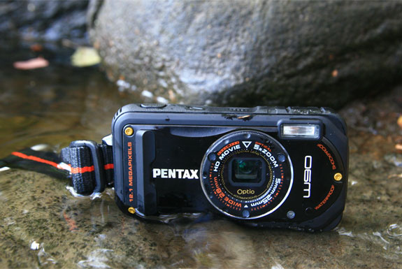 The Waterproof, Durable Pentax Optio W90
