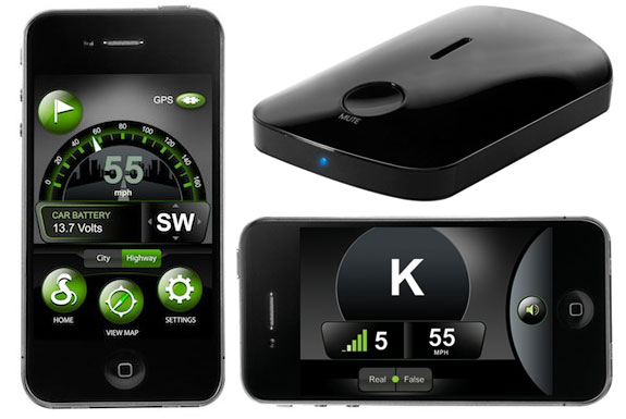 ... of the Cobra iRadar Radar Detector iPhone App | Spot Cool Stuff: Tech