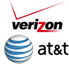 iphone apple  AT&T vs Verizon iPhone 4