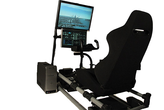 Your Own Home Cockpit Flight Simulator