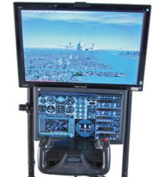 game  Your Own Home Cockpit Flight Simulator