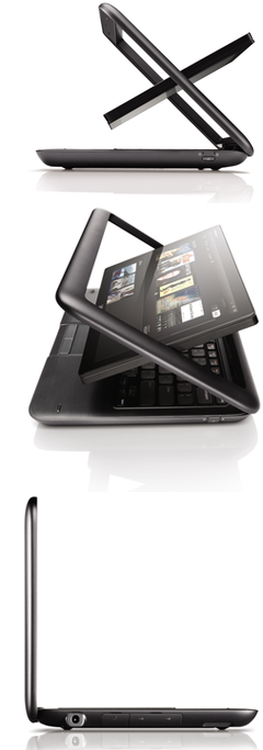 tablet computers laptop  The Dell Inspiron Duo <br>Tablet Netbook Convertible