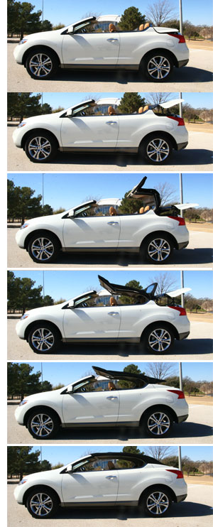 cars best of spot cool stuff  Top Down Review of <br>Nissans Murano CrossCabriolet