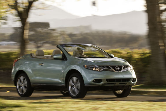 Top Down Review of <br />Nissan&#8217;s Murano CrossCabriolet