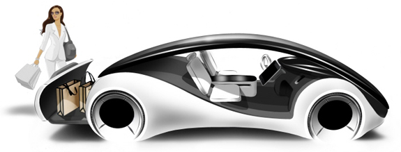 concept cars apple  The Apple iCar and Dreams of What Could Be