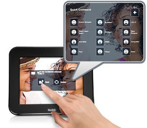 accessories for photographers  Kodak Pulse: The Picture Frame You Can Update From Anywhere