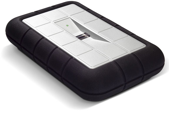 LaCie's Fingerprint-Secured External Hard Drive