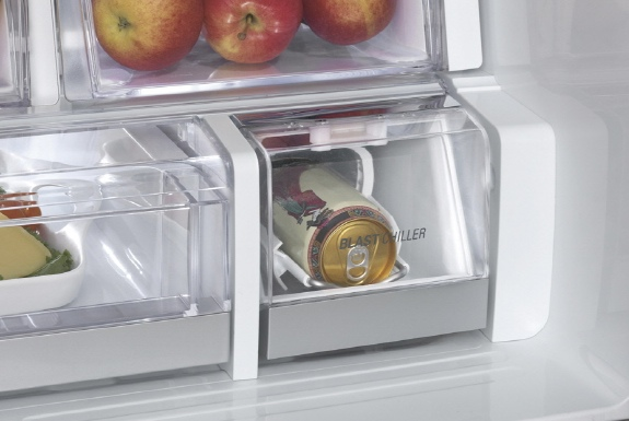lg home appliances concept ces  The Refrigerator That Will Cool a Beer In Under 5 Minutes