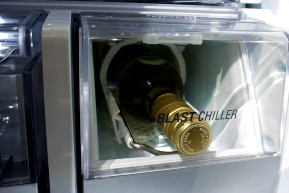 Lg Blast Chiller Refridgerator Near Instant Cold Beer