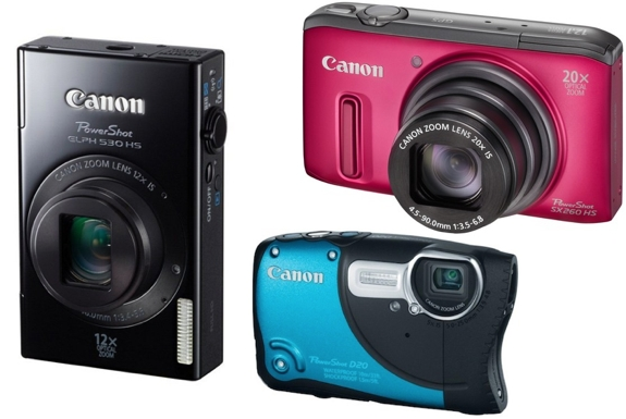 Canon PowerShot Cameras:<br /> Best New Models For 2012