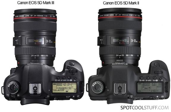 Eos 5d Mark Iii vs Mark ii