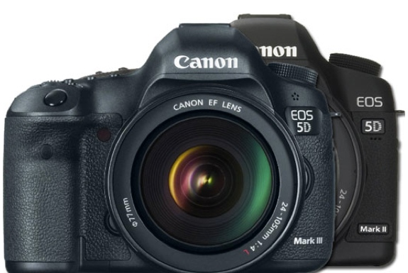 Canon EOS 5D Mark III vs Mark II