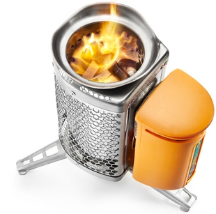 travel gadgets  BioLite: The Worlds Coolest Camping Stove