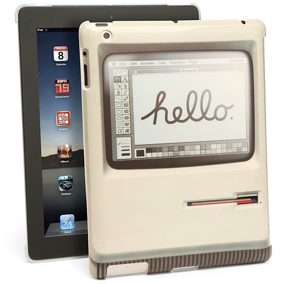 apple ipad apple  The Padintosh iPad Cover