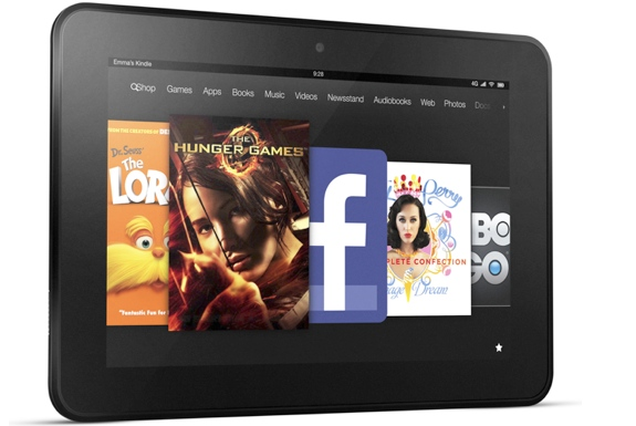 The Amazon Kindle Fire HD Tablets