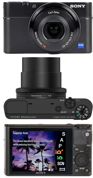 sony digital camera reviews  Sony RX100: Like Having an SLR in Your Pocket?