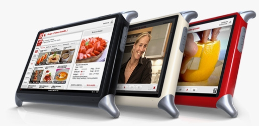 tablet computers  The QOOQ Cooking Tablet