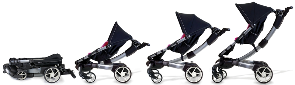 Best 4moms Origami Stroller With Bassinet for sale in New City ... | 282x970