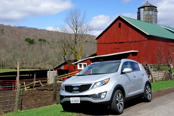 Road Tripping in a 2013 Kia Sportage